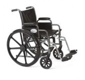 Wheelchair with Leg Rest